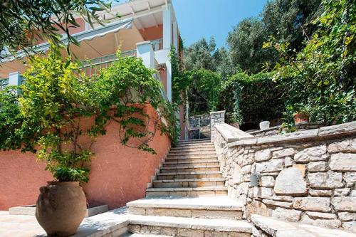 Stairs to the Villa